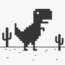 T Rex Game Online birthday 2015