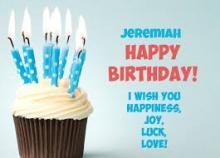 Jeremiah Douglas birthday 2015