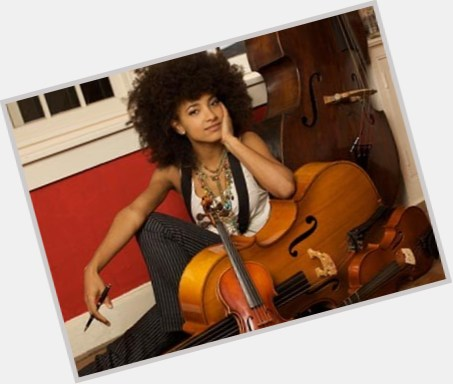 Esperanza Spalding full body 10