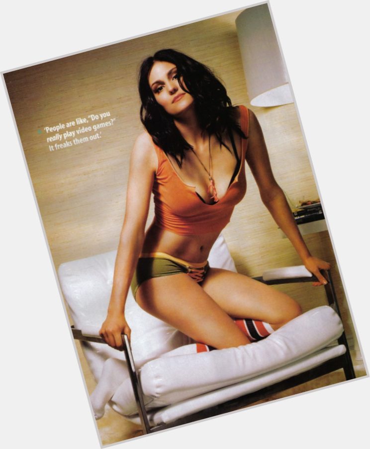 Morgan Webb full body 8