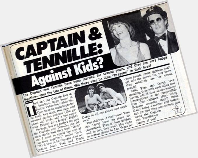 tennille personals The captain & tennille were american recording artists whose primary  captain and tennille released a string of hit singles mostly from their first two albums .