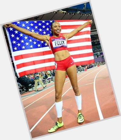 Allyson Felix birthday 2015