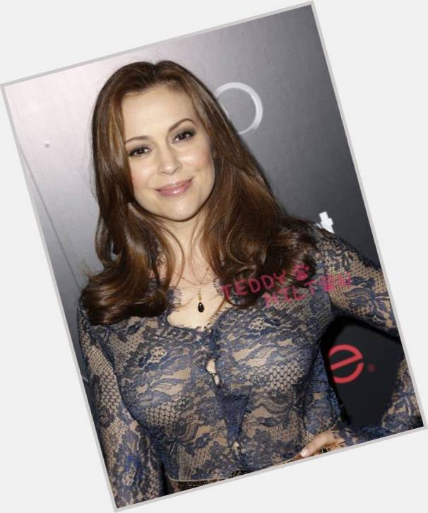Alyssa Milano birthday 2015