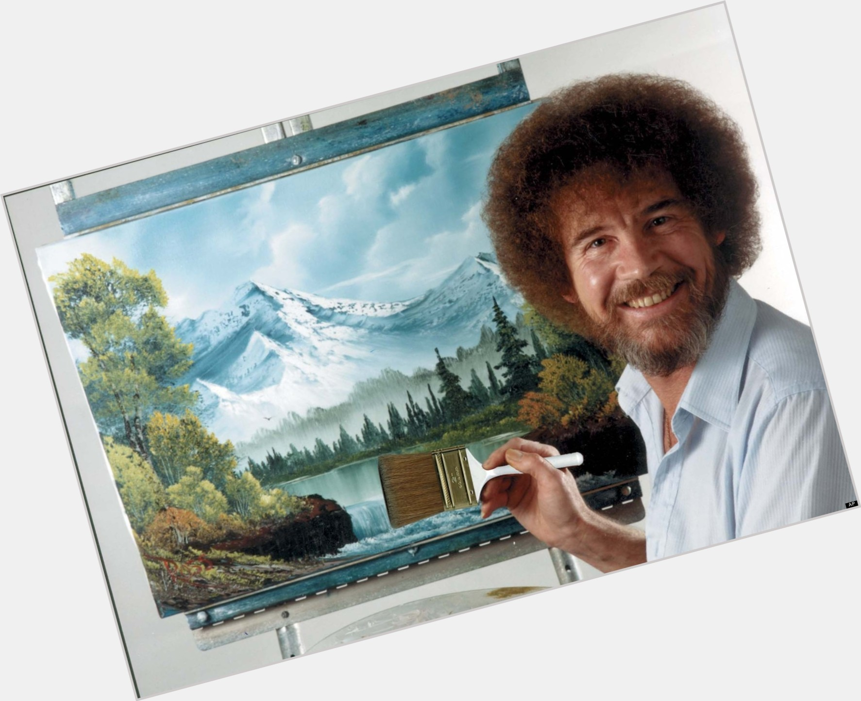 Bob Ross birthday 2015