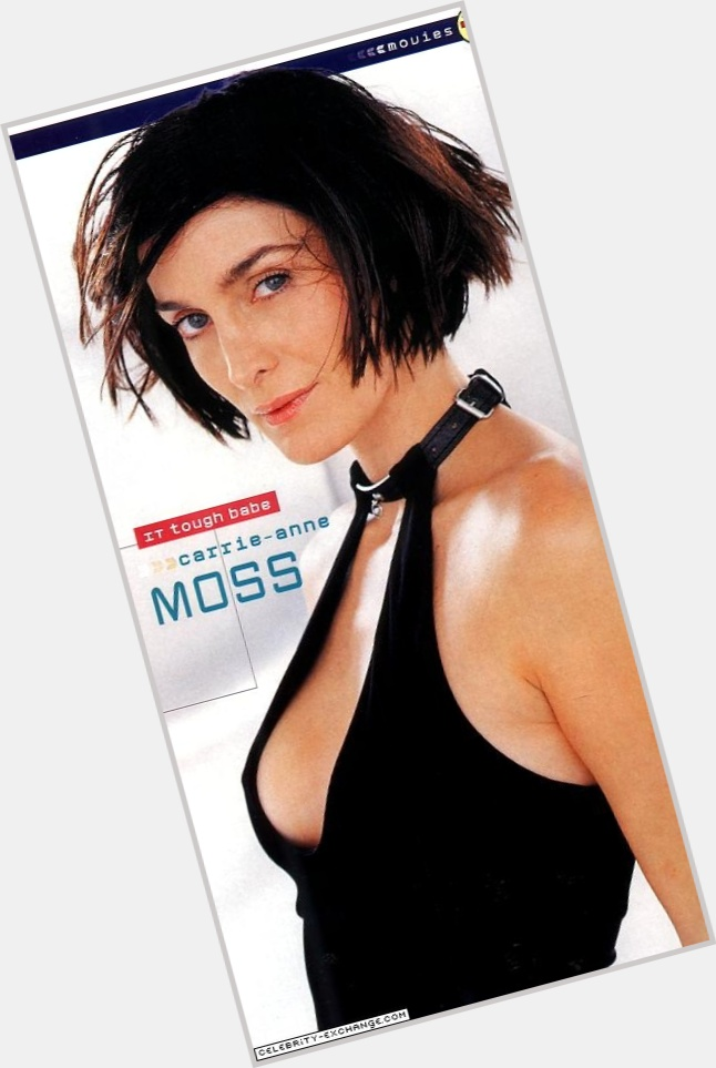 Carrie Anne Moss birthday 2015