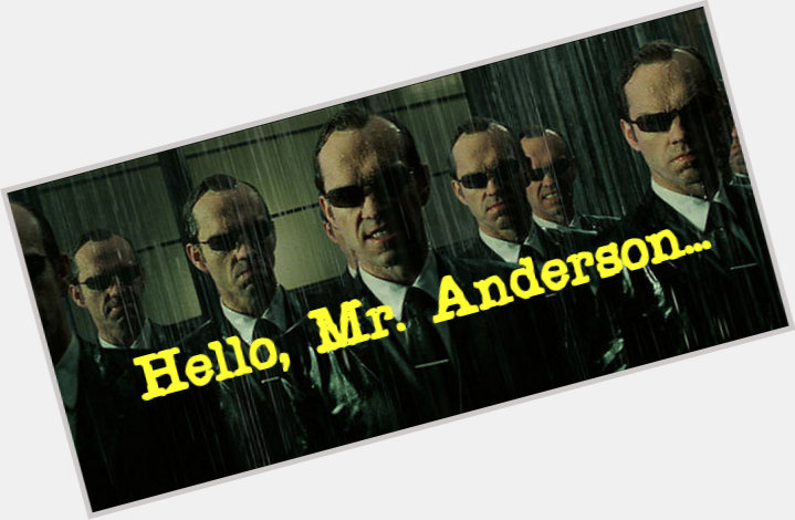 Mr Anderson birthday 2015