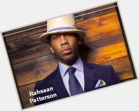 Rahsaan Patterson birthday 2015