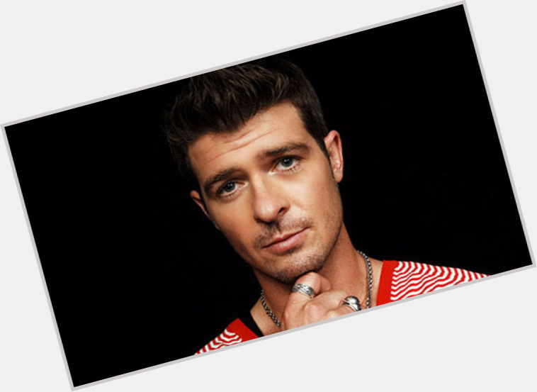 Robin Thicke birthday 2015