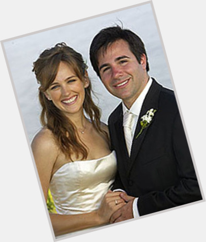 Sarah Thompson with husband Brad Kane on their wedding